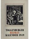 Toggenburger Heimat-Kalender 1949
